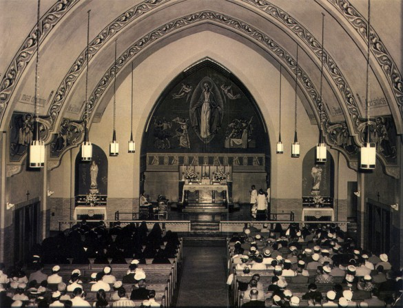 Immaculate Conception Church 1955