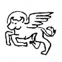 Winged, Haloed Ox